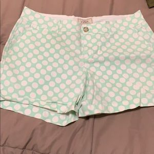 Pants - Cute Polka Dots shorts